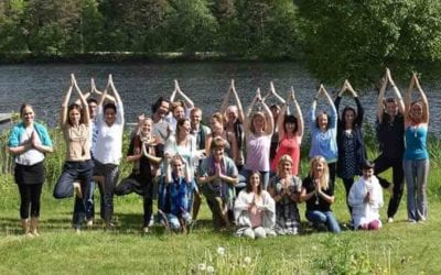 SWEDEN YOGA EXPERIENCE: HEART OPENING AND THE SPEAKING FORREST